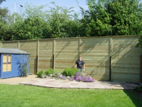 Sound Barrier Fencing