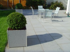 Large Terrace with Planter